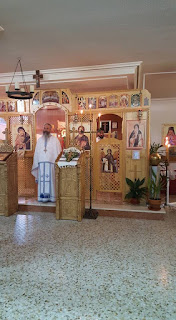 "Sfanta Liturghie si Botez, Parohia ""Sfantul Cuvios Ioan Casian"" Guadalajara, Spania"
