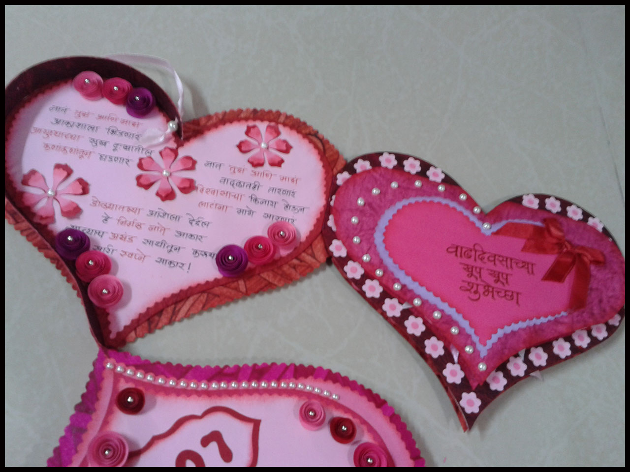 Lina s handmade cards romantic birthday card for husband