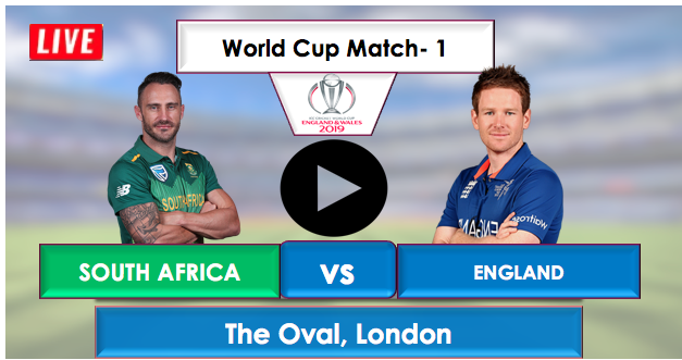 England vs South Africa : Live Streaming Online free,England will bat first