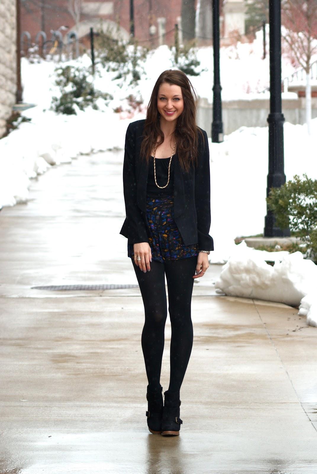Love Lenore Winter Shorts
