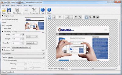 Benvista PhotoZoom Pro 7.1.0 Terbaru