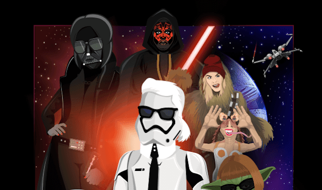 Fashion Icons Get A Star Wars Makeover