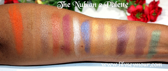 The Nubian 2 Palette