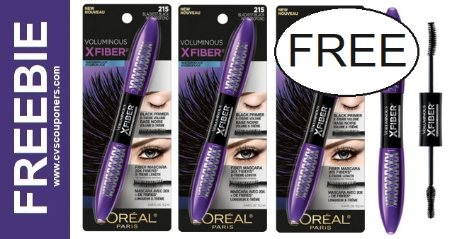 FREE L'Oreal Mascara at CVS 9-6-9-12