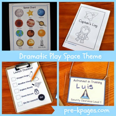 Free Space Printables || Astronomy Resources for the