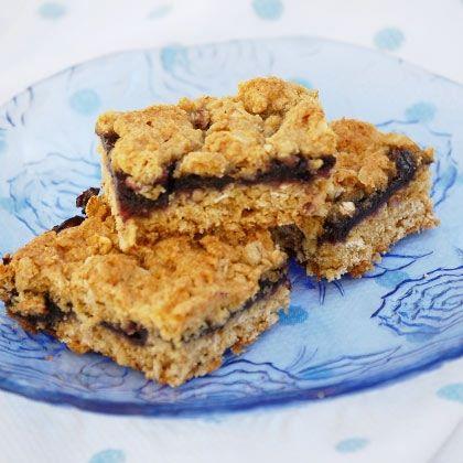 Oatmeal Blueberry Bars