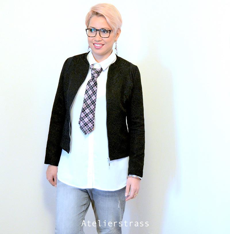 tendencia corbata mujeres