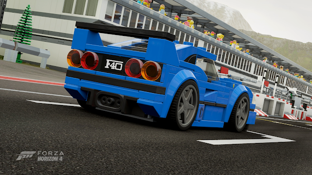 Forza Horizon 4   LEGO F40   For Gamers Like Me