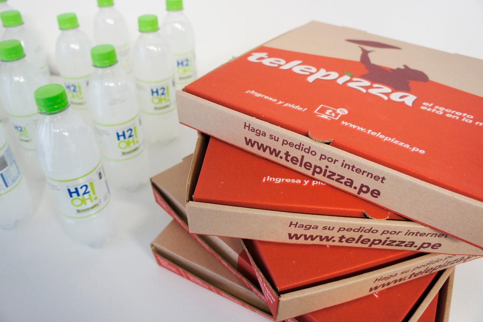 H2OH Telepizza #ComboSabrosoh