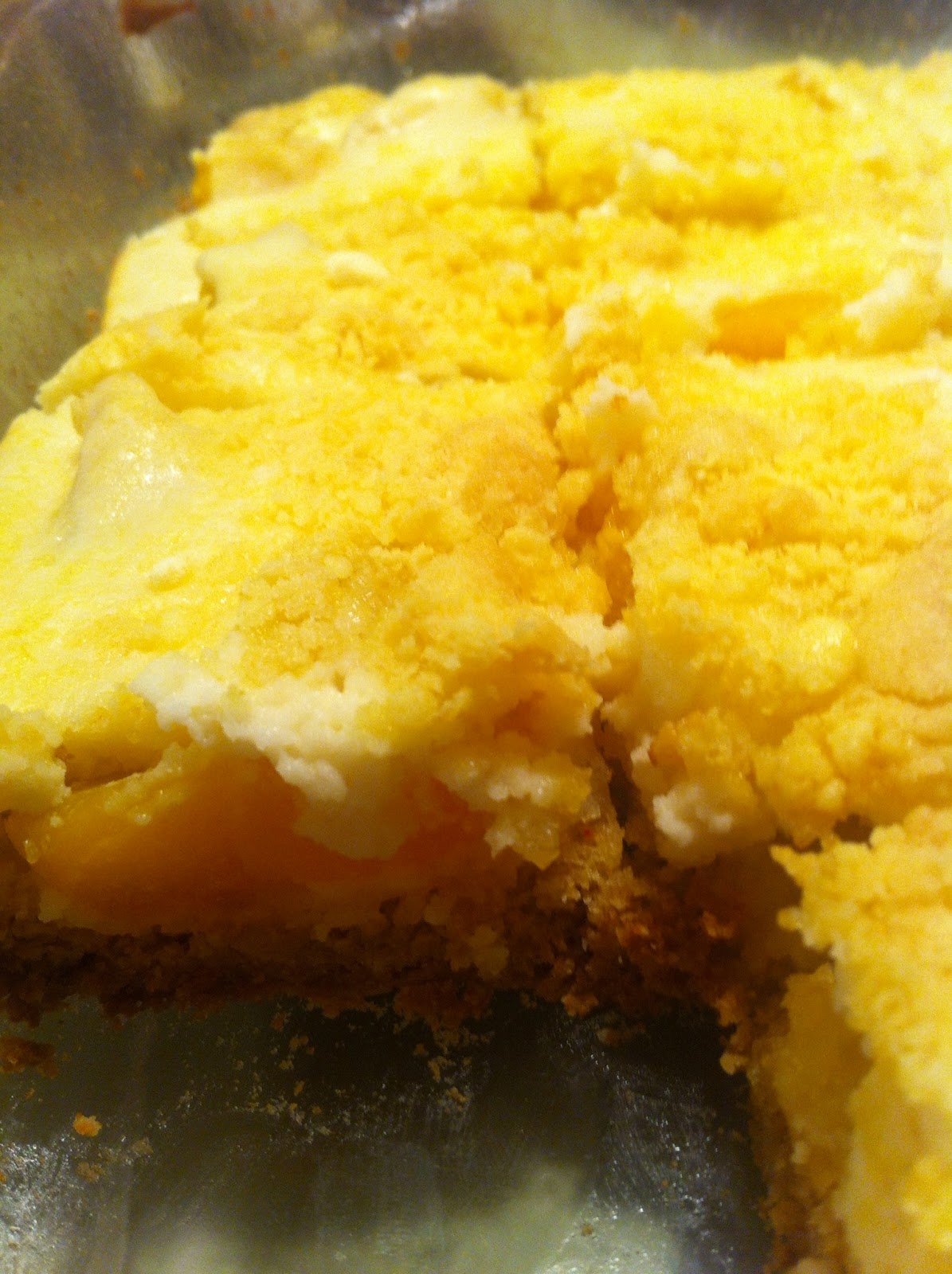 Easy Peach Cobbler Using Cake Mix