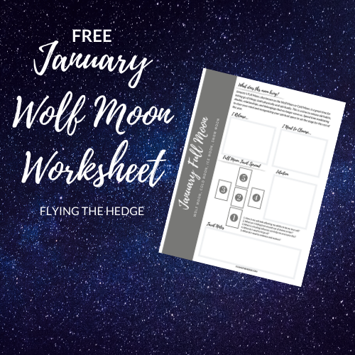 full moon, magic, witchcraft, wolf moon, moon magic