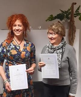 Inka Setälä ja Lea Grönlund