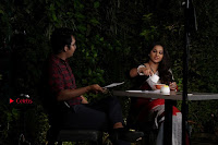 Bollywood Actress Vidya Balan Pos in Saree at Live in Conversation With Renil Aham  0012.jpg