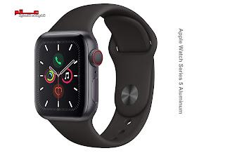 مواصفات ومميزات ساعة آبل وتش Apple Watch Series 5 Aluminum مواصفات ساعة آبل وتش الفئة 5 الألمنيوم - Apple Watch Series 5 Aluminum ساعة آبل وتش Watch Series 5 Aluminum  الإصدارات: A2156, A2157, A2094, A2095