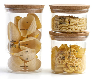 glass food storage containers with cork stoppers