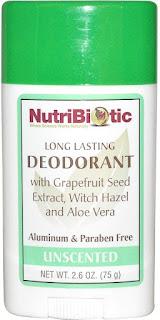 desodorante sin aluminio iHerb Nutribiotic