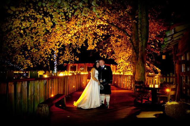 Couple at Alnwick Tree House