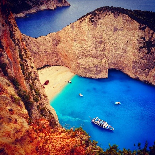 Most Beautiful Places Zakynthos: Navagio Beach, Zakynthos, Greece