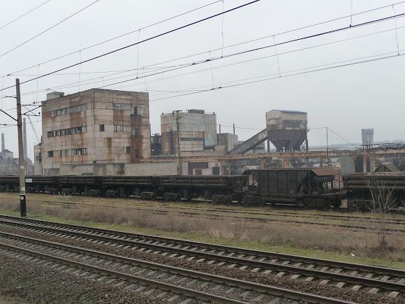 Костянтинівка. Промислова зона