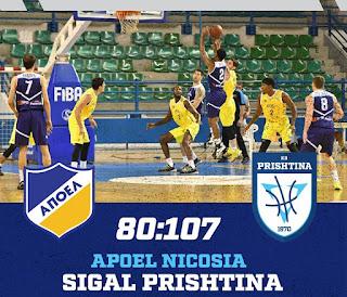 Νέα εντός έδρας ήττα ο ΑΠΟΕΛ, αυτή τη φορά από την KB PRISHTINA