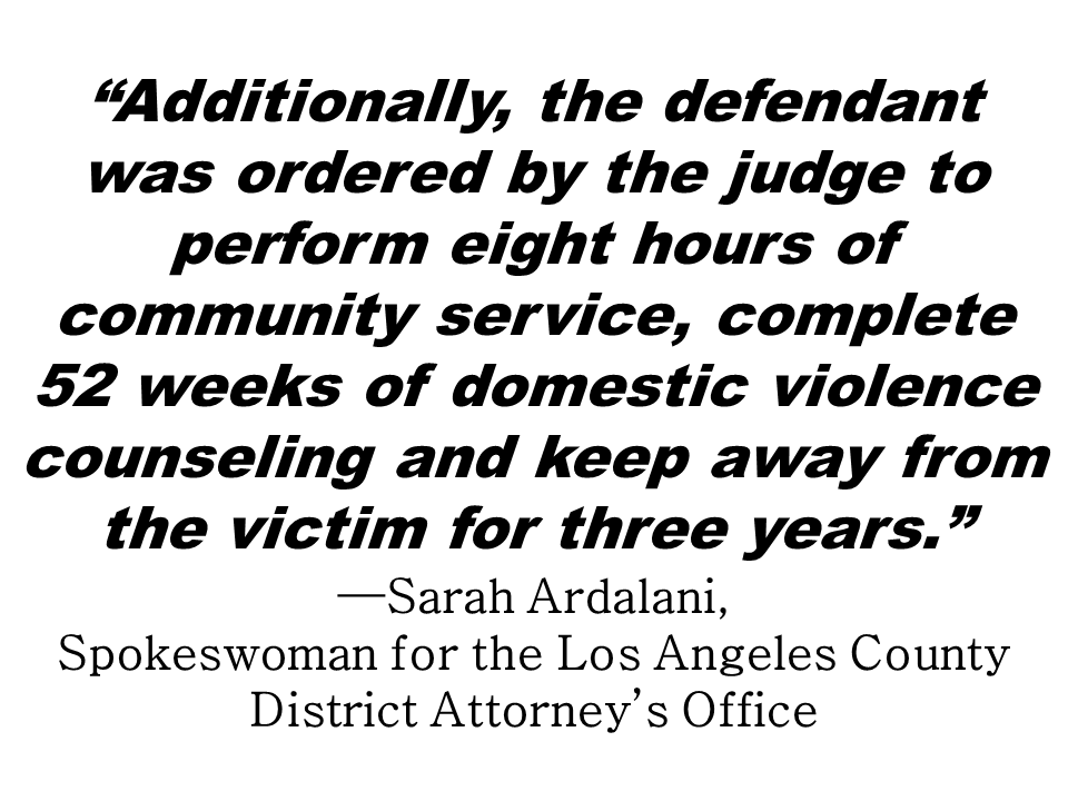 Two dead bodies of asian couple was found  at the Baldwin Park, Los Angeles, California on the afternoon of Christmas day. A middle aged man believed to stab his wife to death before killing himself was identified as Albert Villagomes Ong was convicted of domestic violence against his wife Blessel Ong eleven months ago but pleaded not guilty against it.   Sarah Ardalani, spokeswoman for the Los Angeles County District Attorney's Office, said the 49-year-old Ong was sentenced to three years probation and ordered to serve one day in jail as a condition of probation. The husband was supposed to return to Alhambra Superior Court on Jan. 2 to show the judge proof that he had enrolled in a domestic violence class.  The Jan. 30 protective order was also modified Oct. 2 when he had completed 32 of the 52 sessions in a domestic violence class, according to the court official.  The investigating team headed by Sheriff's Homicide Lt. Rodney Moore, said in an earlier interview that Ong had a history of domestic violence against his wife.  Sponsored Links    The coroner's office did not release the name of Ong's wife earlier because her relatives have not been notified yet.  Baldwin Park police found their bodies at their residence on 4200 block of Center Street when they went there to check on her. Police had been there the day prior to the incident.  Baldwin Park Police did not reveal details on why they were called to the Center Street home on Christmas day. The husband had also crossed paths with Baldwin Park police 12 days before the murder. Baldwin Park police Lt. Melissa Stehly confirmed Ong was arrested for a misdemeanor on Dec. 15.  Source: San Gabriel Valley Tribune         Advertisement  Read More:     ©2017 THOUGHTSKOTO