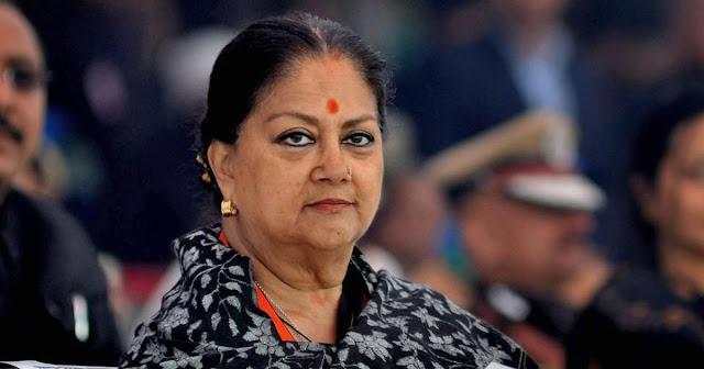 वसुंधरा राजे ने भाजपा विधायकों से मुलाकात करने का सिलसिला शुरू किया - newsonfloor.com