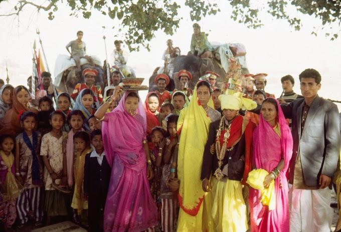 1968's wedding celebration in Parsa