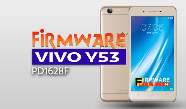 Firmware Vivo Y53 [PD1628F]