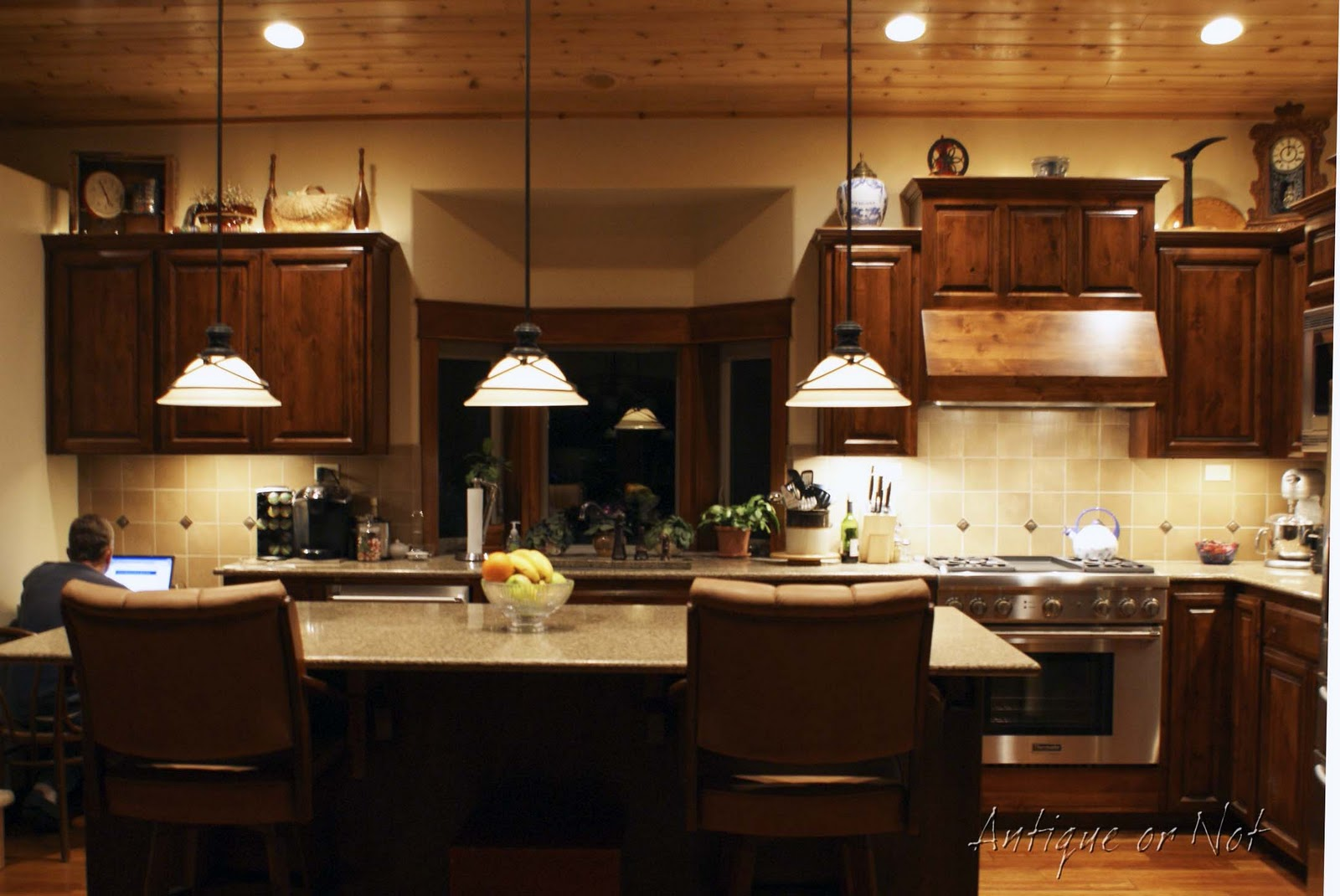 Antique Or Not Decorating Above Your Cabinets