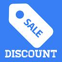 Icon Sale Discount Calculator - Percent Off & Sales Tax