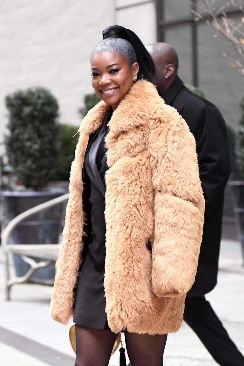 Gabrielle Union Leaves Her Hotel in New York 16 Dec-2019