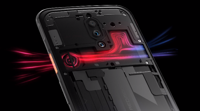 Nubia Red Magic 5G Cooling Feature.