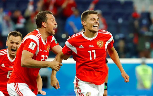 Phải chăng đó chính là lí do mà Nga chơi 'hăng' đến vậy ở World cup? Win2888vn