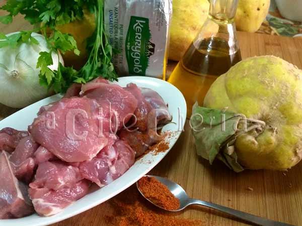 Receta de cordero con membrillo, guiso de origen marroquí lleno de sabor gracias a sus especias