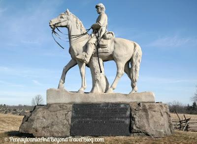 Gettysburg Battlefield - 8th Pennsylvania Calvary Monument