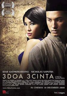 Download 3 Doa 3 Cinta (2008) DVDRIP