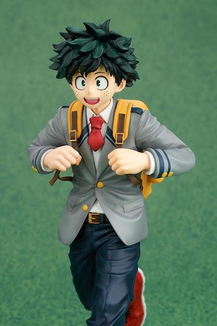 Figuras: KoneColle Izuku Midoriya: School Uniform Ver. de Boku no Hero - Takara Tomy