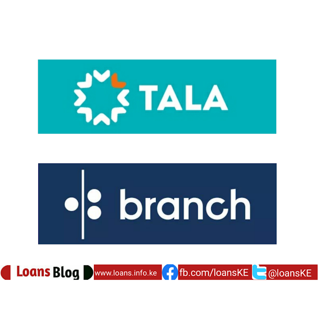 Tala and Branch apps