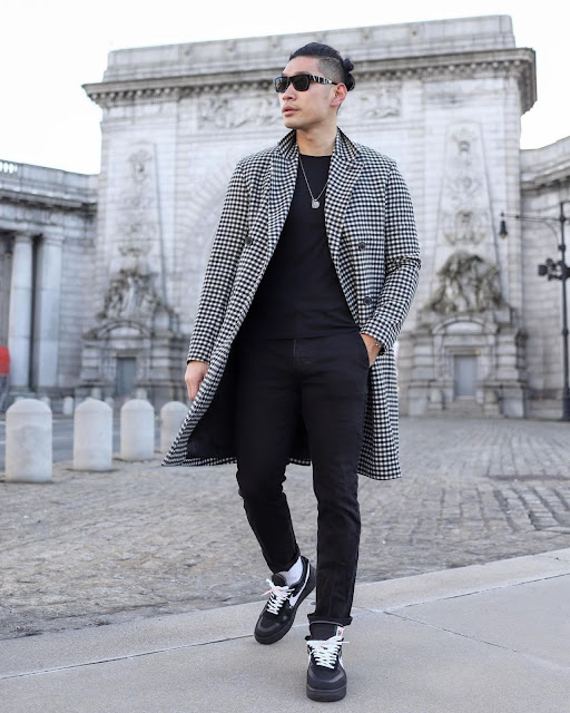 Winter Style Roundup for Men - Theory Topcoat Leo Chan