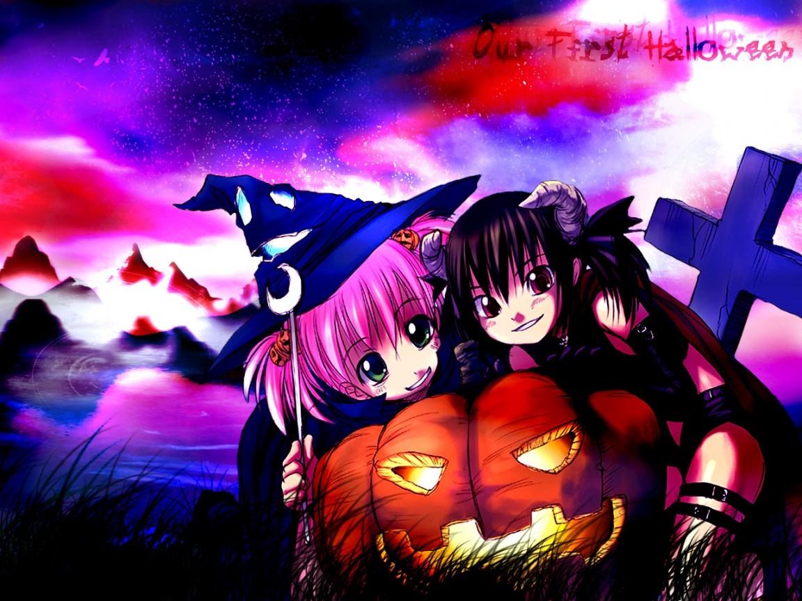 anime halloween girl - photo #32