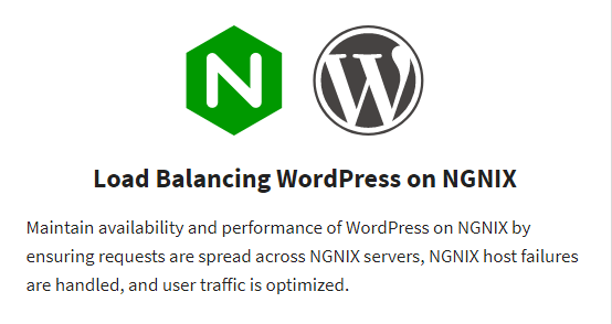Load Balancing WordPress on NGINX