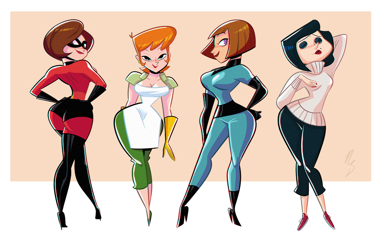 cartoon milfs