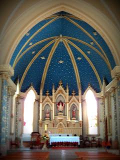 Interior da Igreja Nossa Senhora da Natividade, em Ijuí