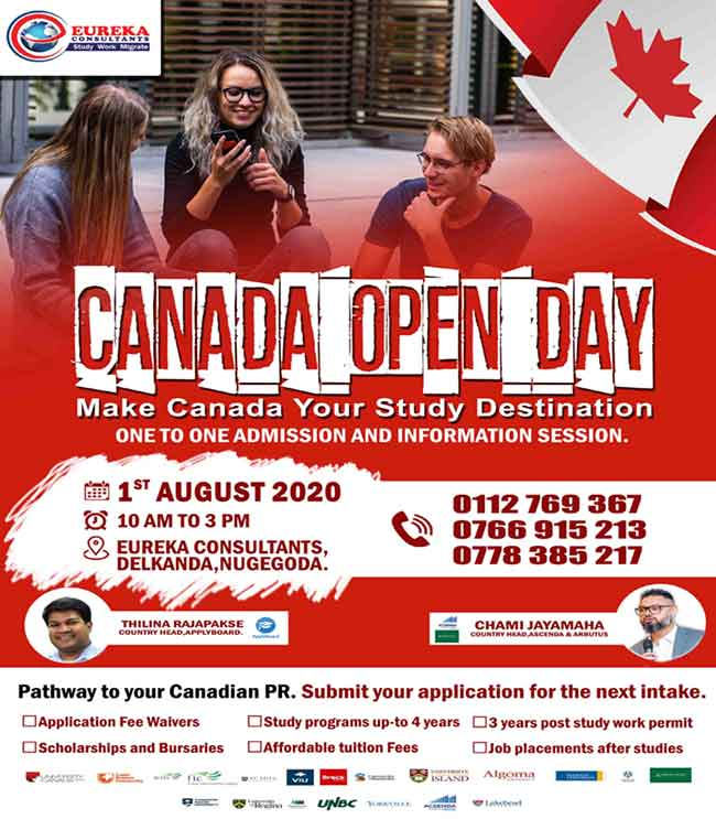 Canada Open Day - Make Canada your Study Destination | Eureka Consultants