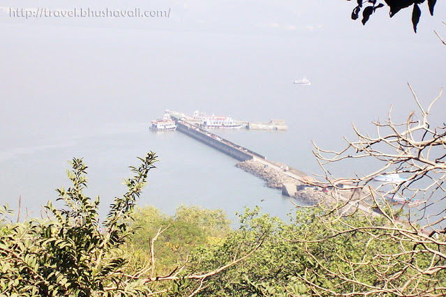 Views from elephanta caves - UNESCO Mumbai