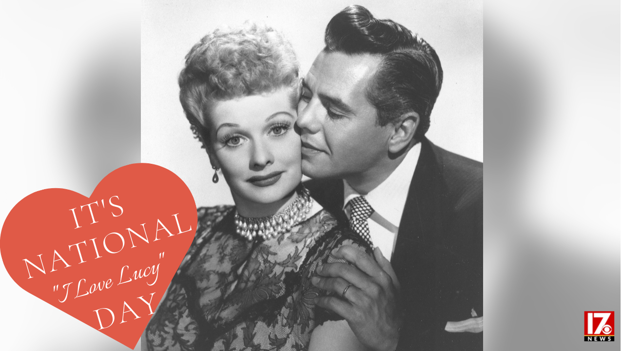 National I Love Lucy Day Wishes Beautiful Image