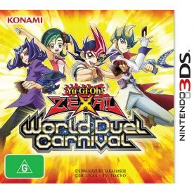 Rom Yu-Gi-Oh Zexal World Duel Carnival 3DS