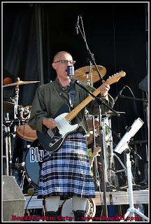Guitare électrique et kilt - punk celtique