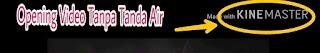 Aplikasi Kinemaster free logo tanda air
