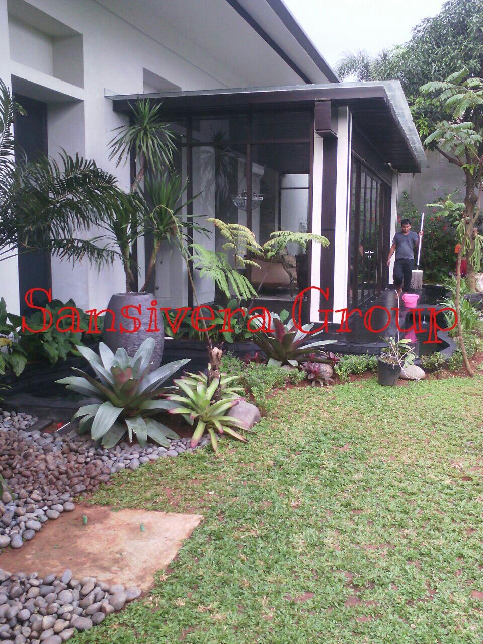 Desain Taman Kolam Tropis A Model Taman Tropical Bali